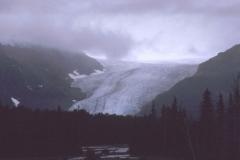Glacier Near Seward Alaska